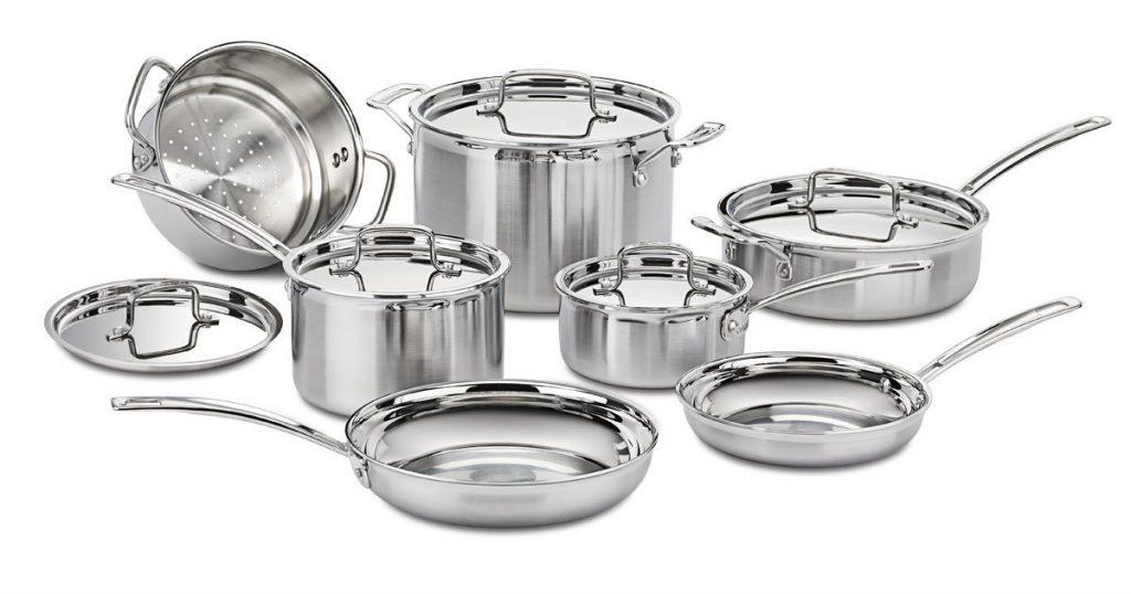 посуда из нержавеющей стали