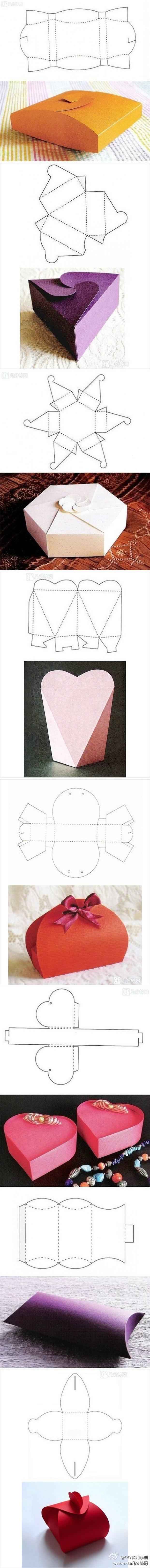 Подарок своими руками схемы коробочка
