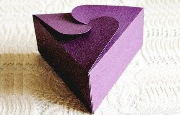 Подарочная коробочка оригами