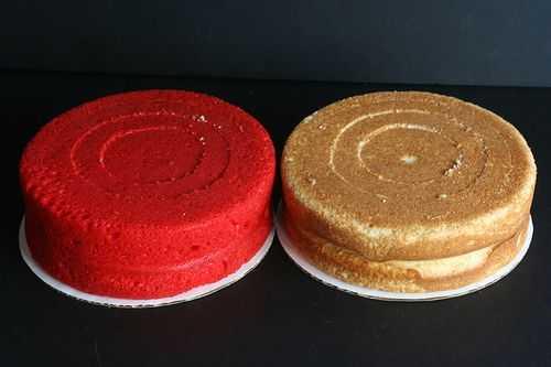 Делаем торт с вертикальными слоями