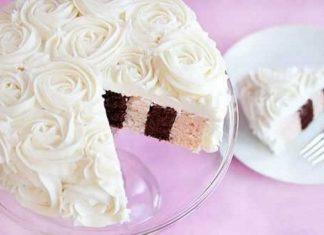 Удивительный торт с вертикальными слоями