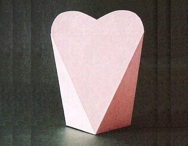 Подарочные коробочки оригами