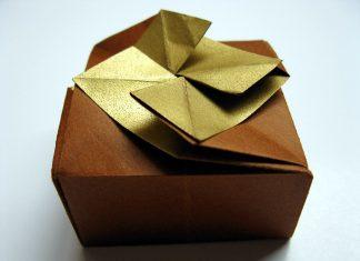 Подарочная коробочка DIY