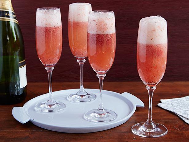 Гранд-коктейль из шампанского