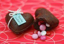 Кексы-валентинки