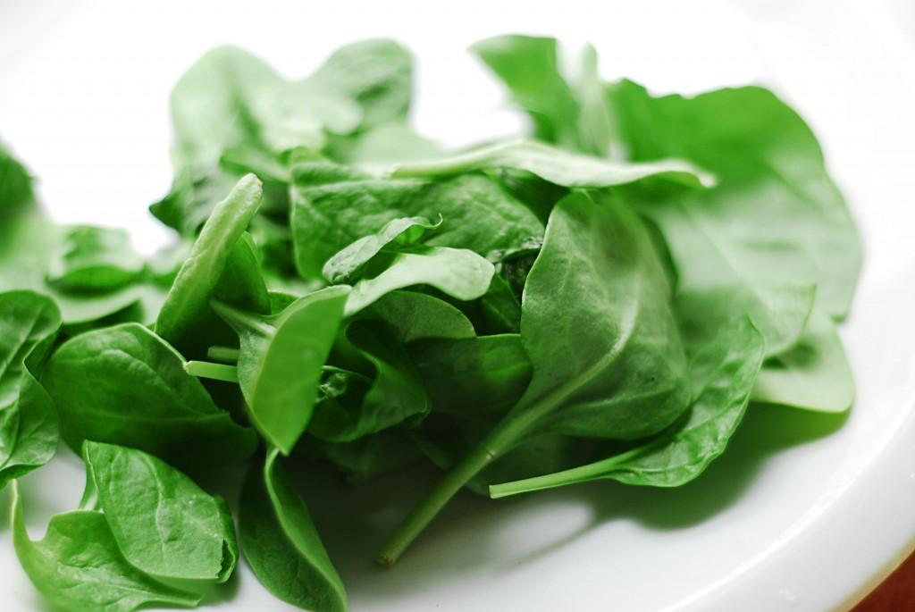 шпинат - продукты, которые помогут похудеть