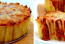 Лазанья - торт из макарон